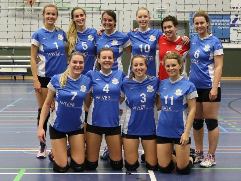 Teamfoto Dames 1