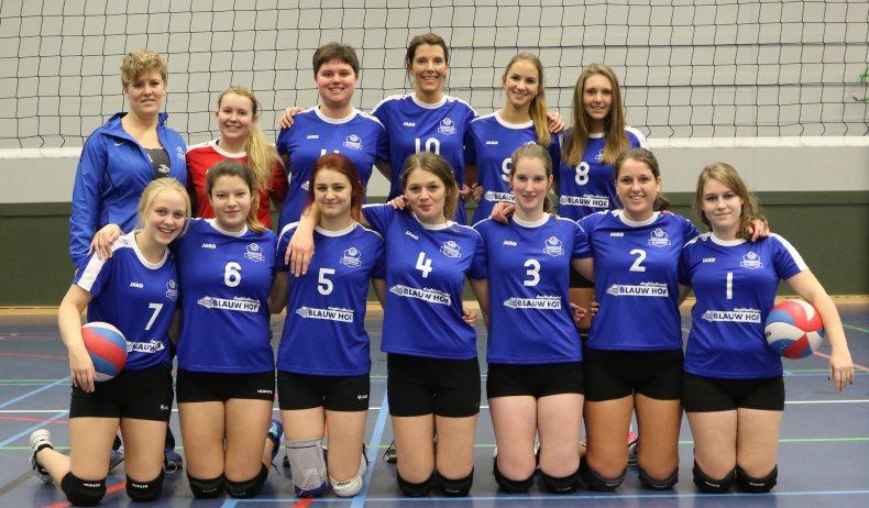 Teamfoto Dames 3